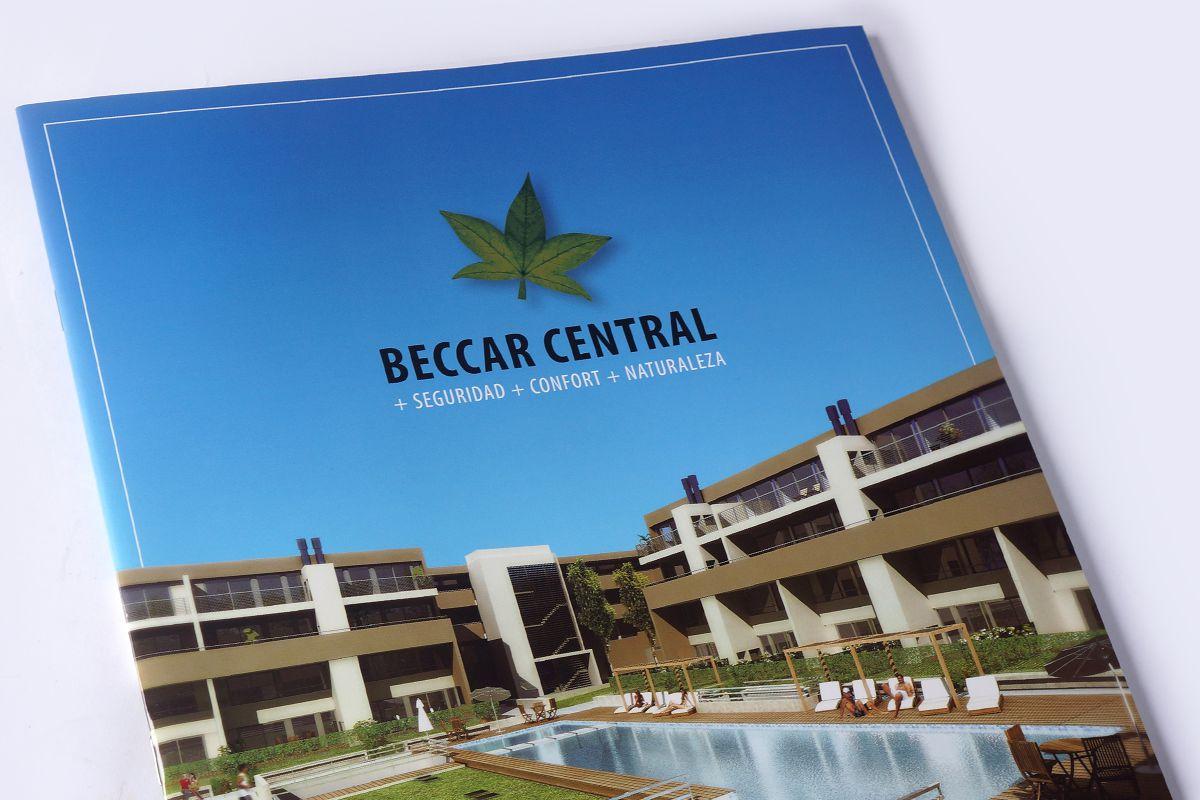 Beccar Central - Proyecto inmobiliario / Argentina / Brochure institucional